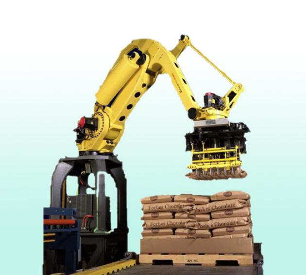 Fully automatic mechanical palletizer