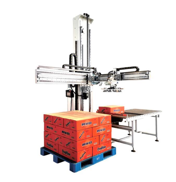 Single column stacker Palletizer ym-md05