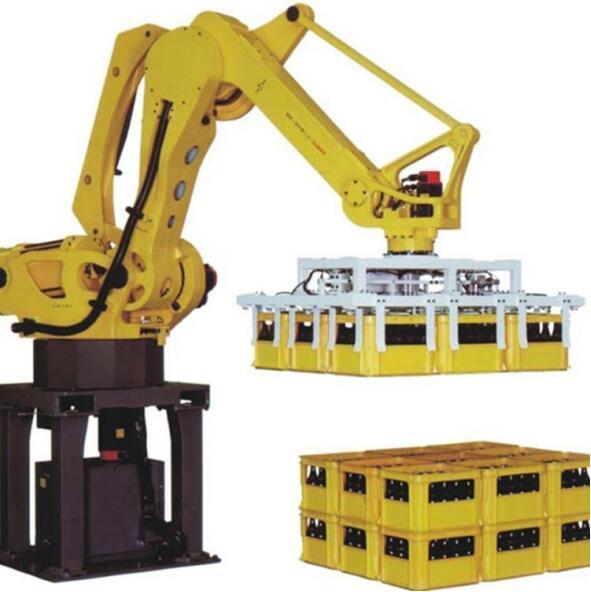 Ten advantages of using palletizing robot packaging equipment (1)